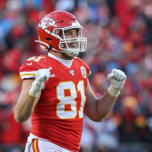 Kansas City Chiefs tight end Blake Bell