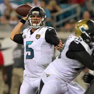 Blake Bortles of the Jacksonville Jaguars