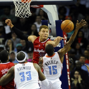 The Los Angeles Clippers' Blake Griffin