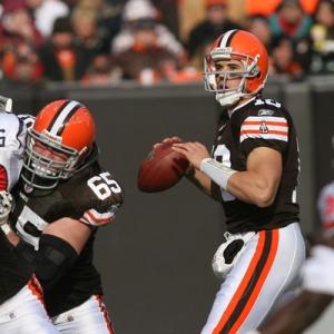 Cleveland Browns Quarterback Brady Quinn.