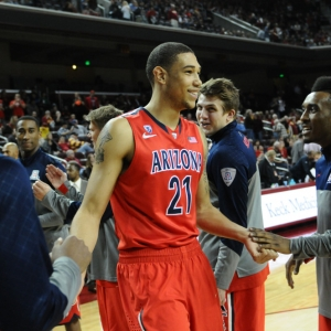 Brandon Ashley of the Arizona Wildcats
