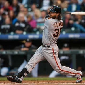 Brandon Crawford San Francisco Giants