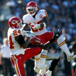 Chiefs cornerback Brandon Flowers