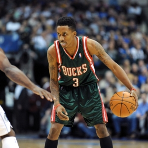 Milwaukee Bucks guard Brandon Jennings