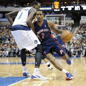 Detroit Pistons point guard Brandon Jennings