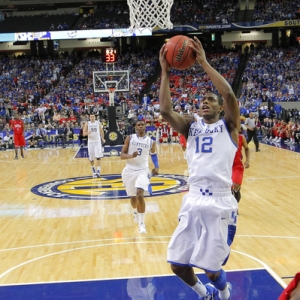Kentucky Wildcats guard Brandon Knight