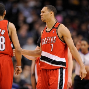 Brandon Roy of the Portland Blazers.