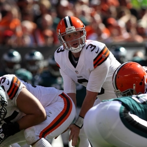 Cleveland Browns quarterback Brandon Weeden