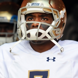 brandon wimbush notre dame fighting irish