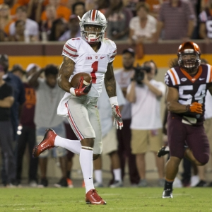 Wide receiver Braxton Miller of the Ohio State Buckeyes