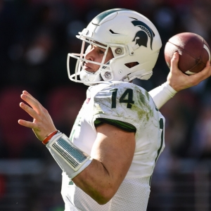 Brian Lewerke Michigan State Spartans