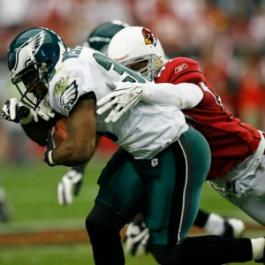 Philadelphia Eagles running back Brian Westbrook.