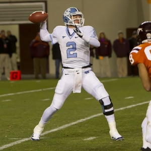 University of North Carolina Tar Heel quarterback Bryn Renner