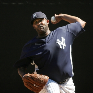 C.C. Sabathia, pitcher for the New York Yankees.