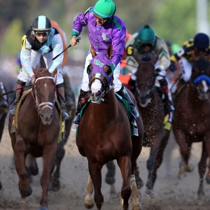 California Chrome and Jockey Victor Espinoza