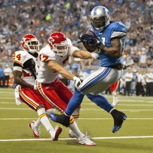 Detroit Lions wide receiver Calvin Johnson
