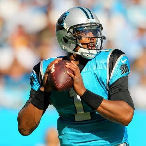 Carolina Panthers quarterback Cam Newton