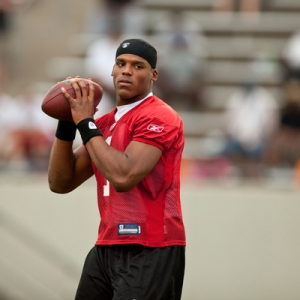 Cam Newton of the Carolina Panthers
