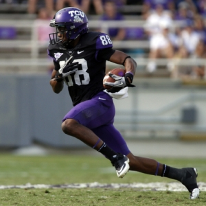 TCU Horned Frogs wide receiver Cam White
