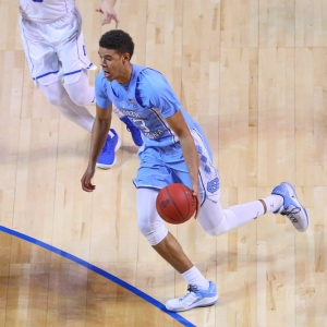 North Carolina Tar Heels guard Cameron Johnson