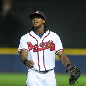 Cameron Maybin Atlanta Braves