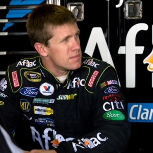 NASCAR driver Carl Edwards.