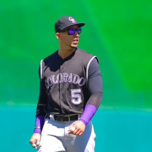 Carlos Gonzalez Colorado Rockies