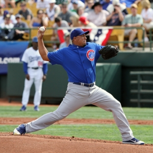 Carlos Zambrano of the Chicago Cubs