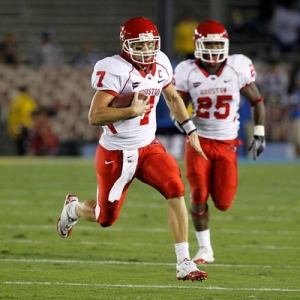 Houston Cougars quarterback Case Keenum