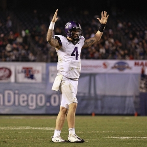 TCU Horned Frogs quarterback Casey Pachall
