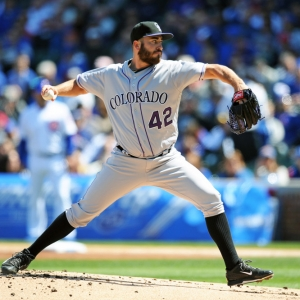 Colorado Rockies Starting pitcher Chad Bettis