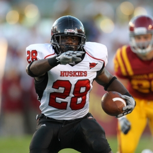 Northern Illinois Huskies running back Chad Spann