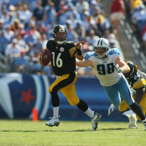 Pittsburgh Steelers quarterback Charlie Batch