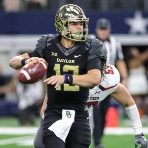 Baylor Bears quarterback Charlie Brewer