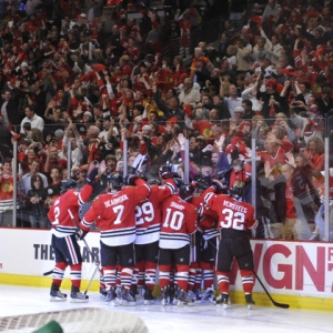Chicago Blackhawks celebration