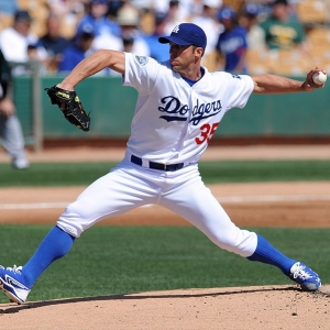 Chris Capuano of the Los Angeles Dodgers