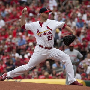 St. Louis Cardinals starting pitcher Chris Carpenter.