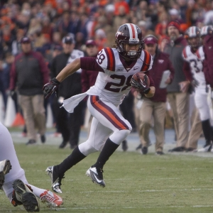 Virginia Tech Hokies runningback Chris Mangus