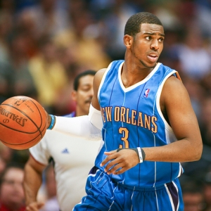 New Orleans Hornets' point guard Chris Paul.