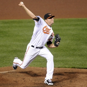 Chris Tillman of the Baltimore Orioles