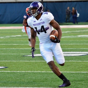 Northwestern wide receiver Christian Jones