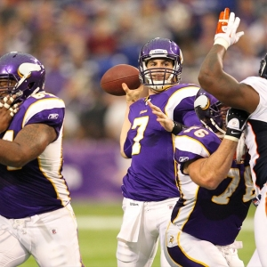 Minnesota Vikings quarterback Christian Ponder