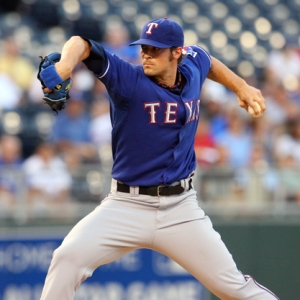 Texas Rangers starting pitcher C.J. Wilson