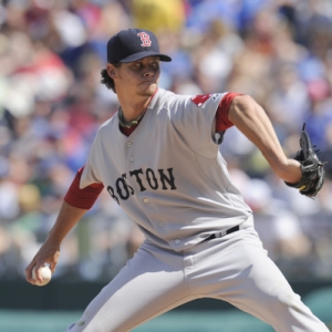 Boston Red Sox pitcher Clay Buchholz