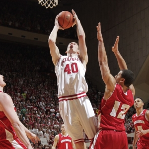 Indiana forward Cody Zeller