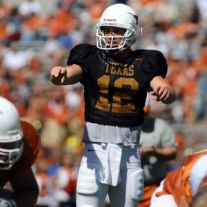 Texas quarterback Colt McCoy.
