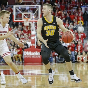 Connor McCaffery Iowa Hawkeyes