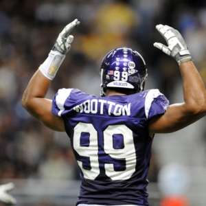 Northwestern football junior defensive end Corey Wootton.