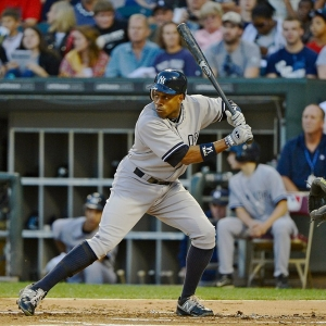 New York Yankees center fielder Curtis Granderson