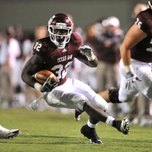 Texas A&M Aggies running back Cyrus Gray
